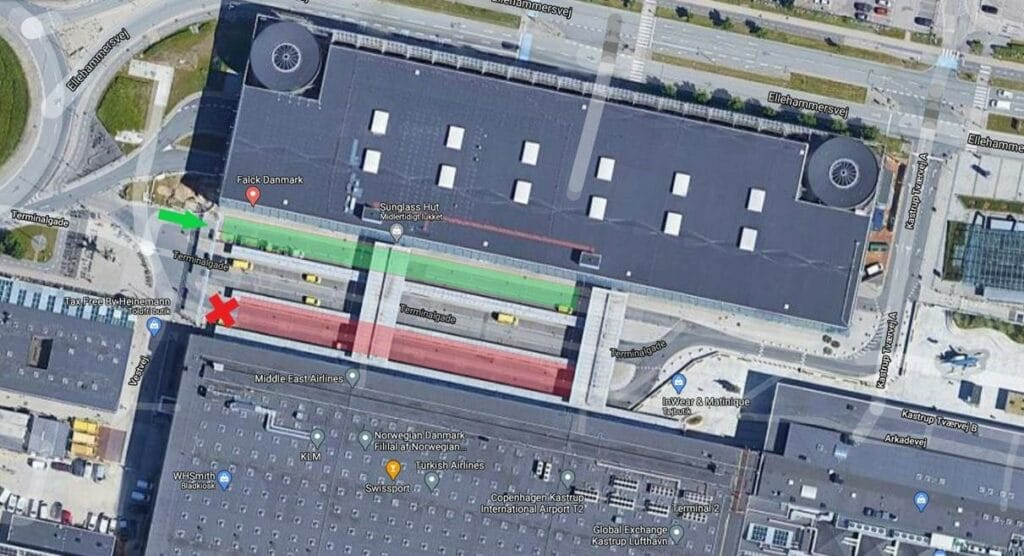 Københavns Lufthavn: Nyt afsætningsområde ved terminal 2 6